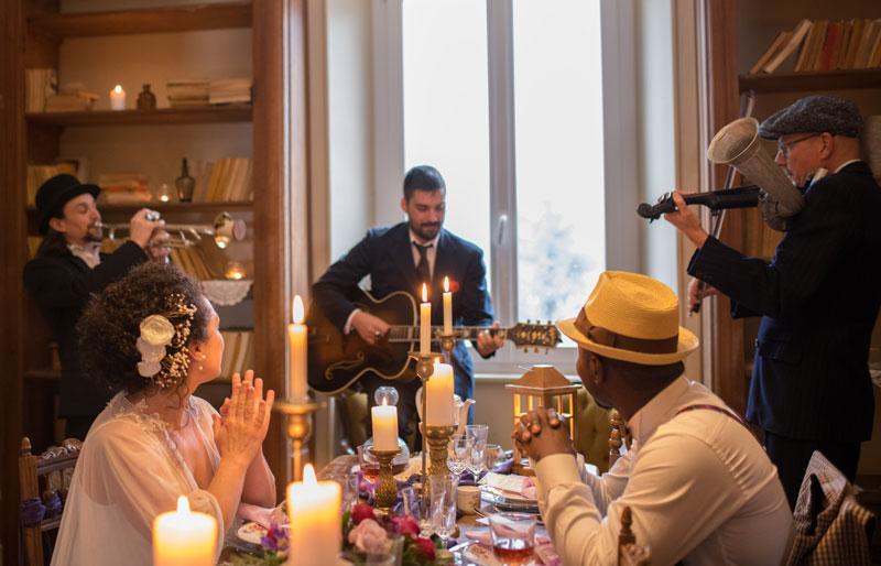 Groupe de Jazz New Orleans pour soirée privée & évènements professionnels