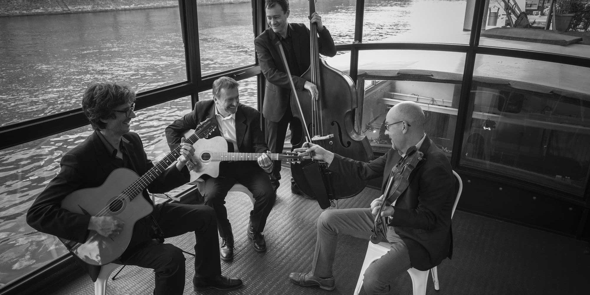 groupe de jazz mariage rhone alpes. Gypsy swing pour cocktail de mariage