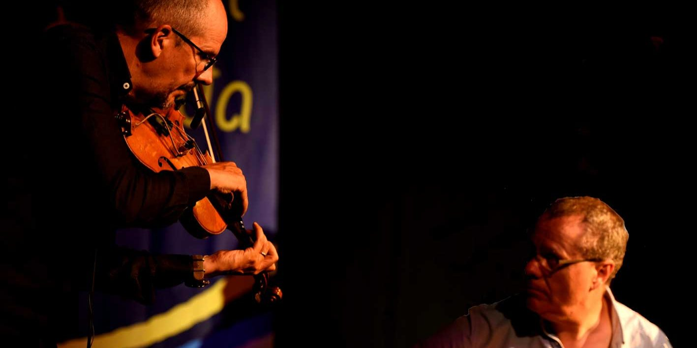 guitare et violon duo de jazz cocktail concert évènement